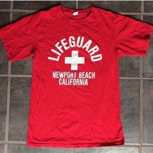 Lifeguarding shirt